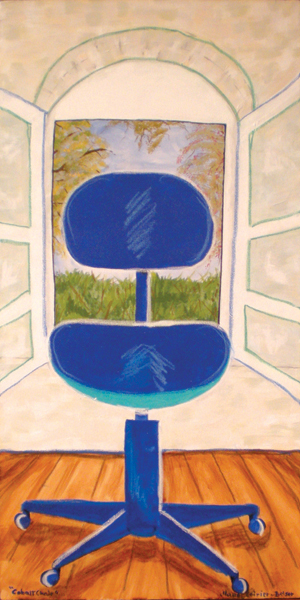 Cobalt Chair
