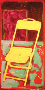 Kay's Yellow Chair